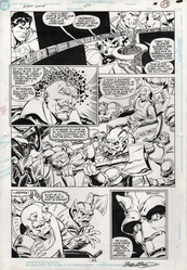 Original Art Page - Action Comics - 675 pg21