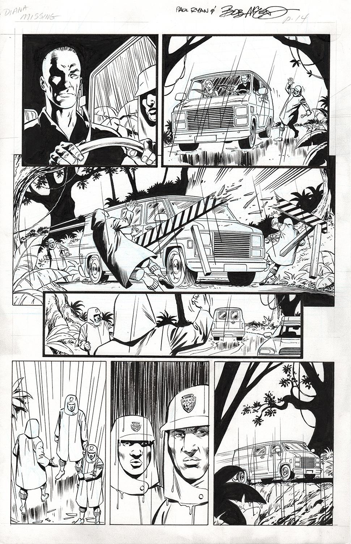 Original Art Page - Fantomen - 9 p14