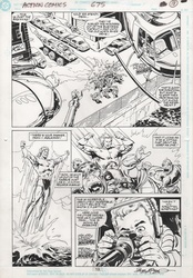 Original Art Page - Action Comics - 675 pg13