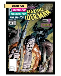 THE AMAZING SPIDER-MAN #294: KRAVEN'S HUNT, PART 5