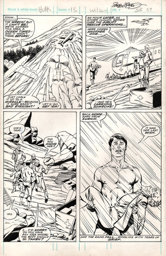 Original Art Page - Hulk - 13 pg37