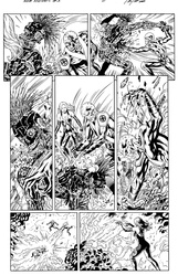 Original Art Page - The New Mutants Forever - 3 pg06