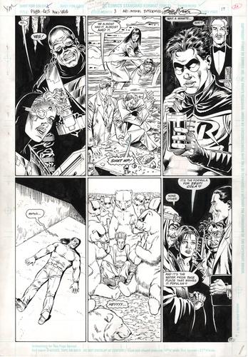 Original Art Page - Psyba Rats - 3 pg17