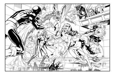 X-Men - BW Print3