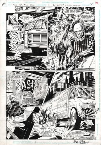 Original Art Page - Psyba Rats - 1 pg34