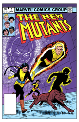 The New Mutants 1 - Color Print