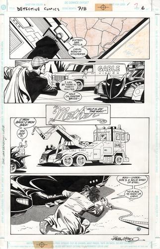 Original Art Page - Detective Comics - 718 pg06