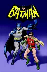 Batman and Robin - Color Print