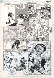 Original Art Page - Action Comics - 659 pg22