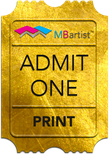 Event: Golden Ticket - Print