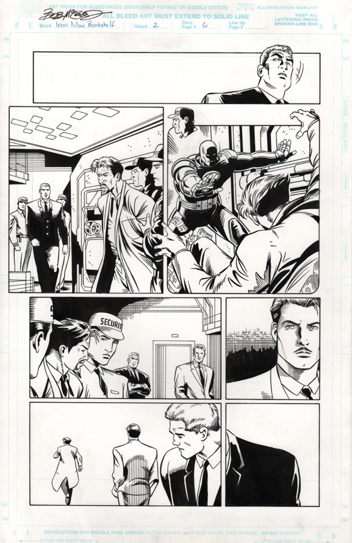Original Art Page - Iron Man - 2 pg06