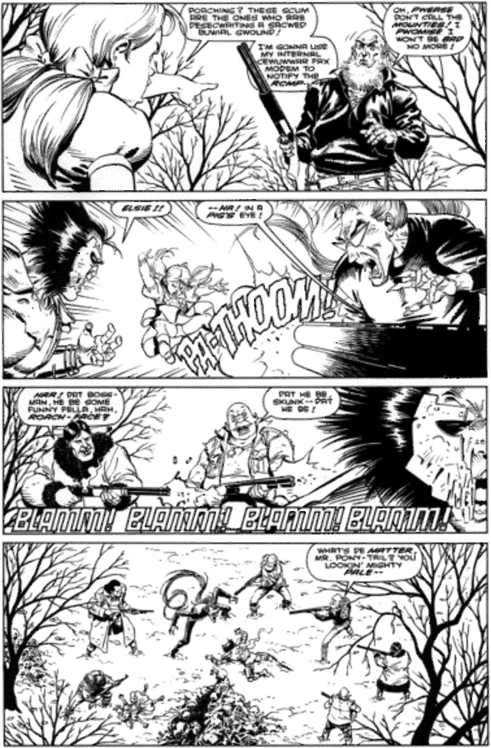 Original Art Page - Wolverine - 83 pg15