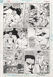 Original Art Page - Adventures of Superman - 480 pg24