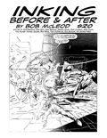 Inking Before & After