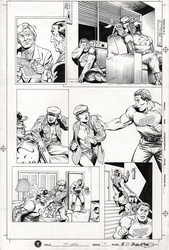 Original Art Page - Mr Hero - 2 pg20