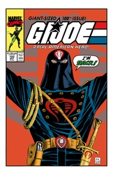 G.I. Joe 100 -  Color Print