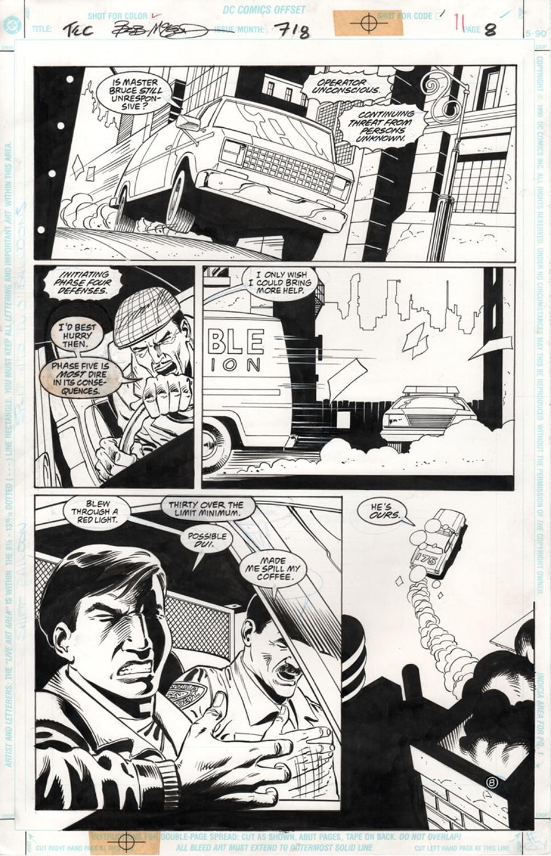 Original Art Page - Detective Comics - 718 pg08