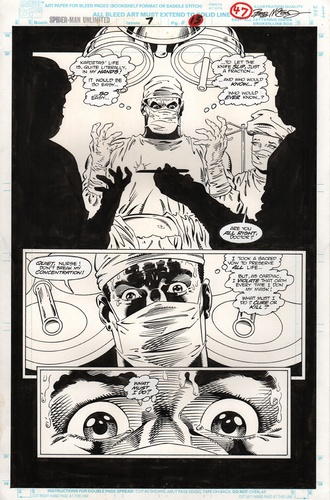 Original Art Page - Spider-Man Unlimited - 7 pg47