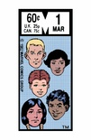 The New Mutants 1 Corner Box -  Color Print