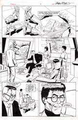 Original Art Page - Freemind - 4 pg27