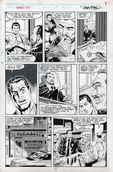 Original Art Page - What If: The Punisher's Family Hadn't Been Killed - 10 pg09