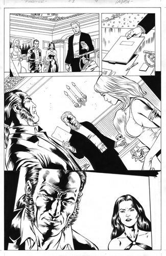 Original Art Page - The New Mutants Forever - 1 pg04