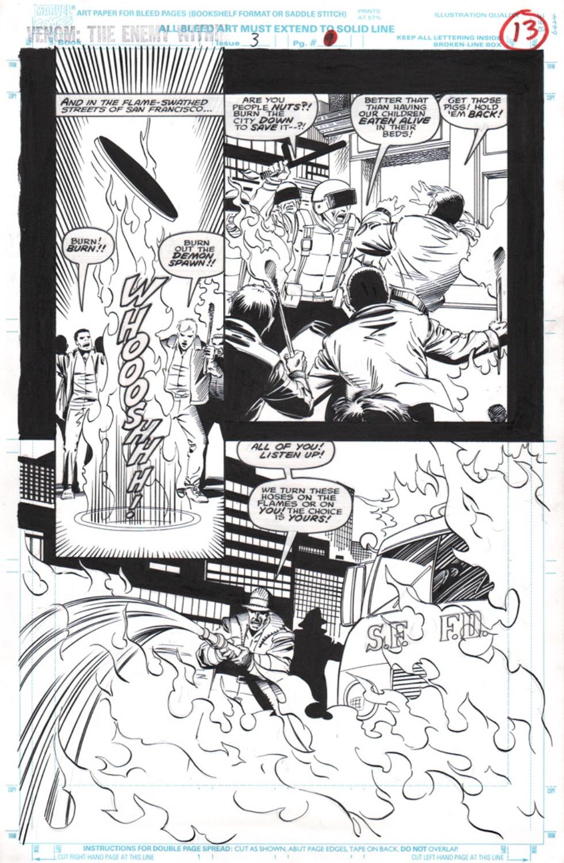 Original Art Page - Venom: The Enemy Within - 3 pg13