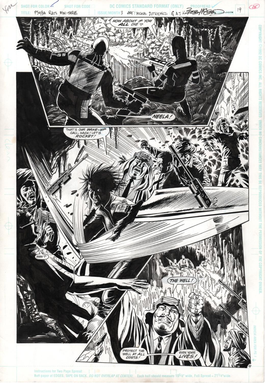 Original Art Page - Psyba Rats - 3 pg19