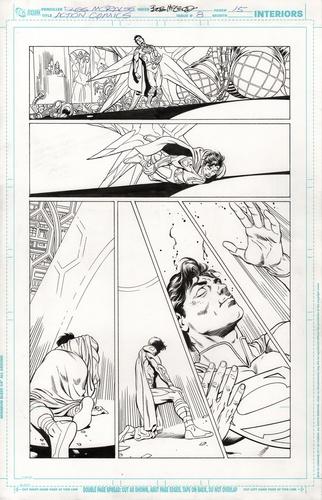 Original Art Page - Action Comics - 8 pg15