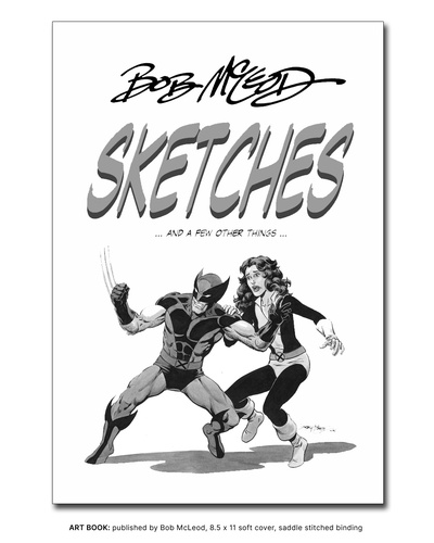 Art Book - BOB MCLEOD SKETCHES (AND A FEW OTHER THINGS)