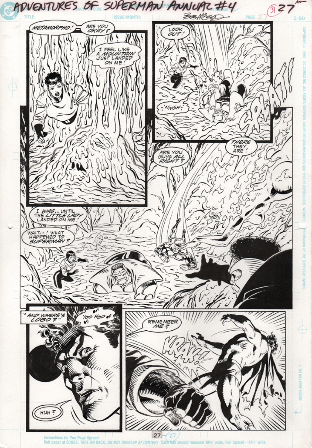 Adventures of Superman - Annual 4 pg27