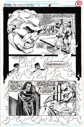 Original Art Page - Venom: The Enemy Within - 3 pg10