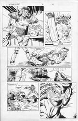 Original Art Page - Freemind - 3 pg18