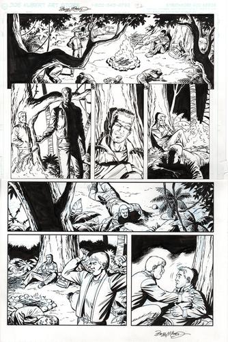 Original Art Page - Fantomen - 11 pg12