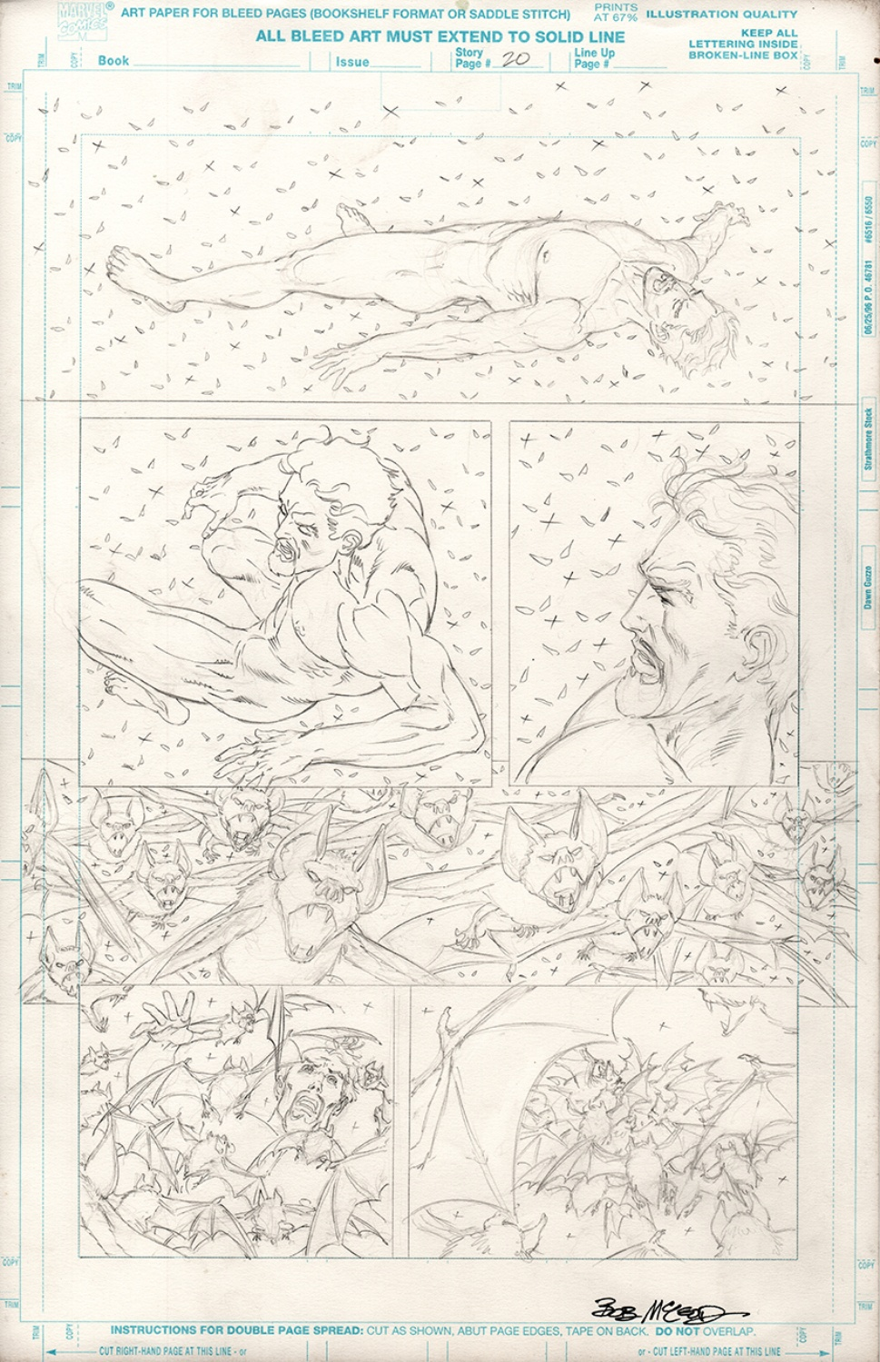 Original Art Page - Spider-Man Team-up - 6 pg20