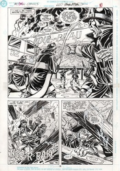 Original Art Page - Action Comics - 660 pg08