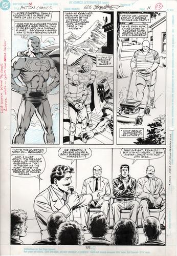Original Art Page - Action Comics - 668 pg11