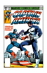 Captain America  241 - Color Print