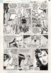 Original Art Page - Action Comics - 655 pg17