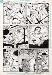Original Art Page - Adventures of Superman - 480 pg33