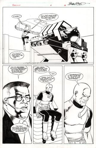 Original Art Page - Freemind - 4 pg26