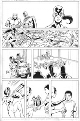 Original Art Page - JSA 80 Page Giant 2011 - 1 pg20