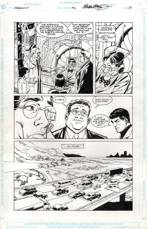 Original Art Page - Freemind - 2 pg13