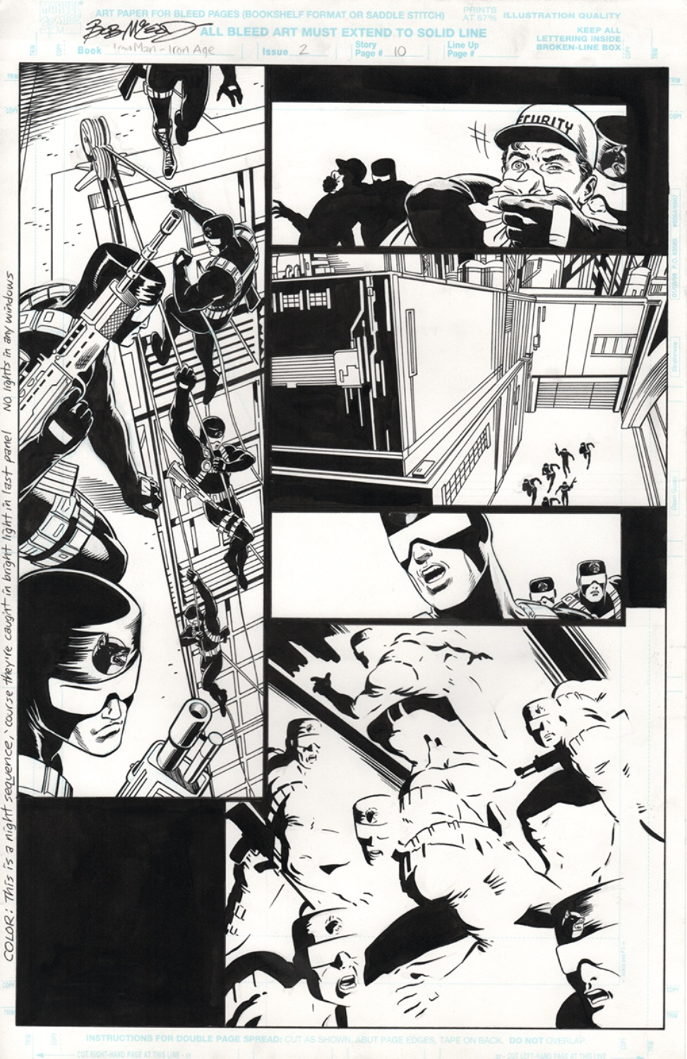 Original Art Page - Iron Man - 2 pg10