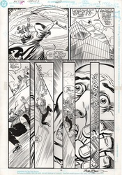 Original Art Page - Action Comics - 660 pg04