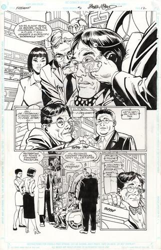 Original Art Page - Freemind - 2 pg12