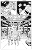 Original Art Page - The New Mutants Forever - 1 pg21