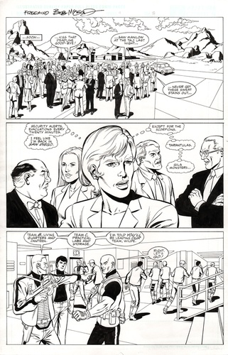 Original Art Page - Freemind - 4 pg18