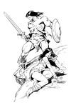 Conan - BW Print