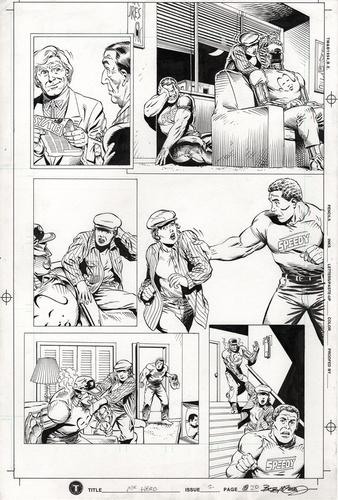 Original Art Page - Mr Hero - 2 pg20